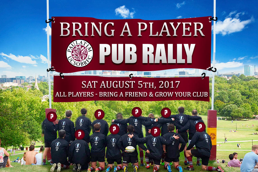 UCSOBRFC Pub Rally - Saturday, August 5th, 2017